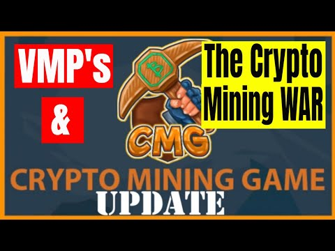 CryptoMiningGame Update VMP and the Crypto Mining War , Free Crypto
