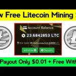New Free Litecoin Mining Website || New Launched Free Bitcoin Mining Site 2020 || Ionlite.us Review