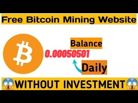 New Free Bitcoin Mining Site 2020 Blanace 0 00050501 Daily Without Investment