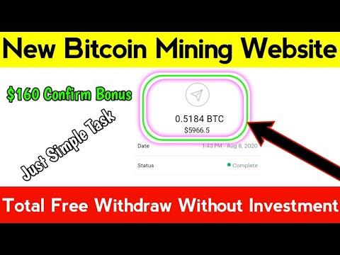 New Bitcoin Mining Site || Free Bitcoin Mining Website || Free Bitcoin Miner || Mygbit.com Review