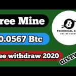 #Giveaway | New Cloud Free Bitcoin Mining Site 2020 | New Best Free Bitcoin Mining Site 2020