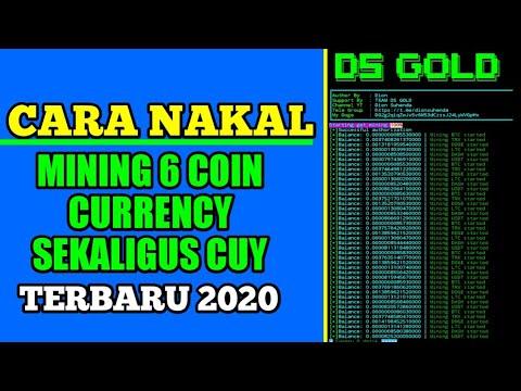 Paling Santai! Cara Botakin Website Penghasil Bitcoin Mining Sekaligus 6 Currency Baru 2020