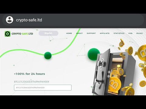 Crypto-safe.ltd is a scam!!!(100% new crypto doubler scam)