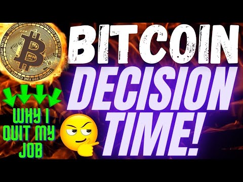 MUST SEE BITCOIN UPDATE! I QUIT MY JOB youtube and trading! BTC trading charts analysis news price