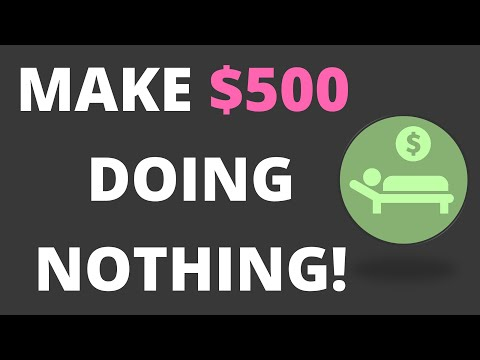 MAKE $500 OVER AND OVER BY DOING NOTHING!! {BITCOIN Withdrawal!}