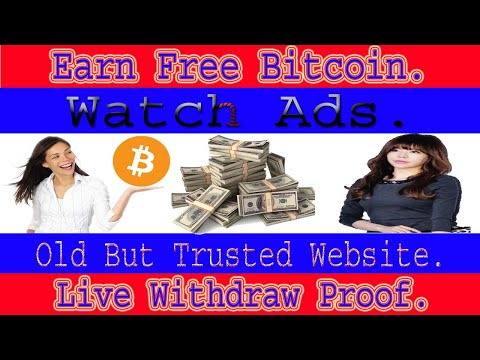 Bitcoin earning website ads watching jobs. old but trusted bitcoin earning website withdraw proof.