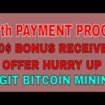 Cryptocloudmining.cc 90th Live Withdraw Payment Proof | New Trusted Bitcoin Mining Site 2020 mining