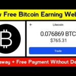 New Bitcoin Earning Website || New Bitcoin Mining Site || Free Bitcoin Miner || Btcmaker.io Review