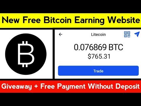 New Bitcoin Earning Website || New Bitcoin Mining Site || Free Bitcoin Miner || Btcmaker.io Review