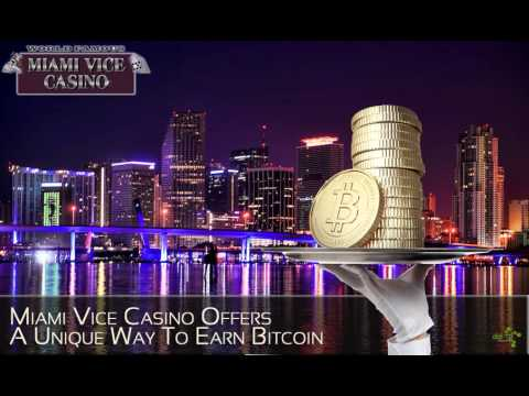 DatSyn News – Miami Vice Casino Offers A Unique Way To Earn Bitcoin