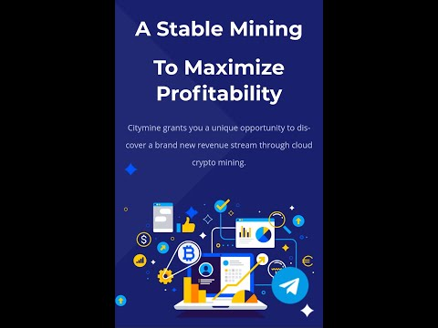 New Free Bitcoin Mining Website 2020 || New Free Cloud Mining Website 2020 || City Mine Review