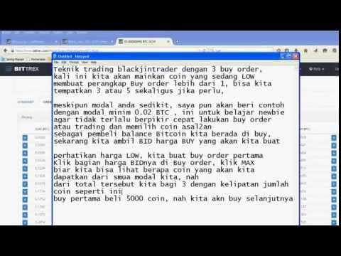 Trik Blackjintrader dengan 3 Buy order