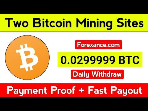 New Bitcoin Mining Site 2020   New btc earning site 2020   BTC mining site 2020