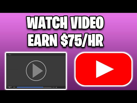 MAKE $75 PER HOUR WATCHING VIDEOS [Make Money Online For Free]