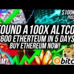 BUY ETHEREUM NOW!! BE WARNED Crypto DEFI SCAMS! 100x Altcoins! Bitcoin to $100k? Crypto News