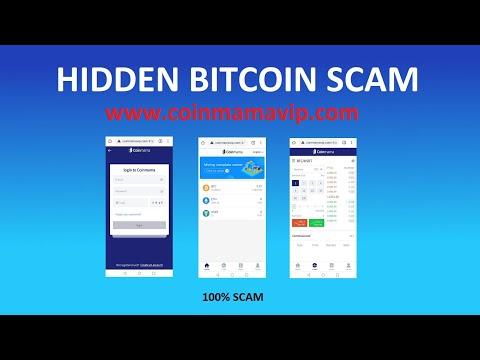 Hidden Bitcoin Scam Sites