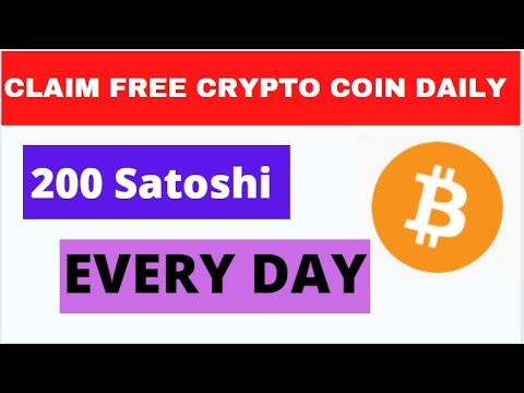 NEW CRYPTO BITCOIN LOOT APP 200 SATOSHI DAILY NO INVESTMENT