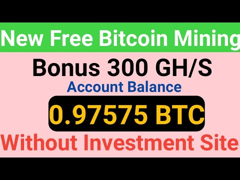 New Free Bitcoin Mining Sites 2020 | 0.008 BTC Earn Without Investment | Top BTC Cloud Mining Sites