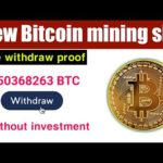 New latest Bitcoin mining website 2020 - Earn Bitcoin without investment - Okarian rai