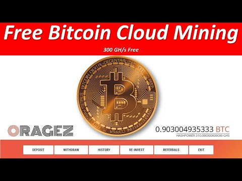 New legit free bitcoin cloud mining site 2020 ✓ Without Investment oragez.com -  2020