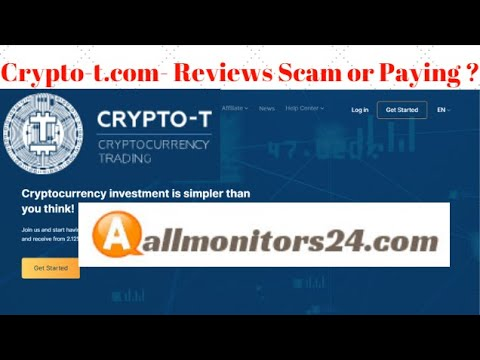 Crypto-t.com , Reviews Scam Or Paying ?