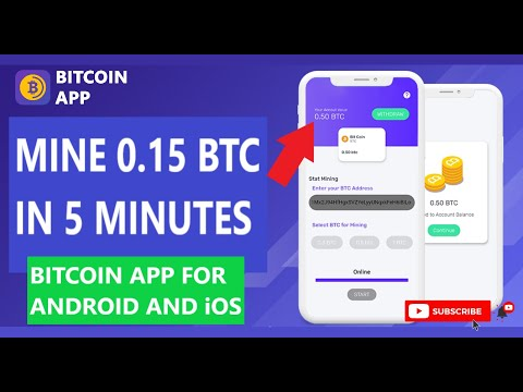 BITCOIN MINING SOFTWARE APP 2020 | MINE 0.15 BTC in 5 Minutes on Android phone.