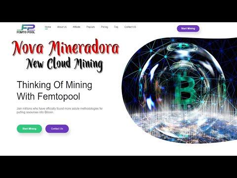 New Bitcoin Mining website 2020   Nova Mineradora Bitcoin