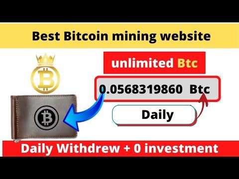 New Bitcoin Mining website 2020 || Free Mining website || New BTC mining site