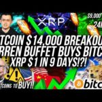 Warren Buffet BUYS BITCOIN! XRP $1 in 9 Days! $14,000 Bitcoin THIS WEEK! DEFI, Altcoin & Crypto News