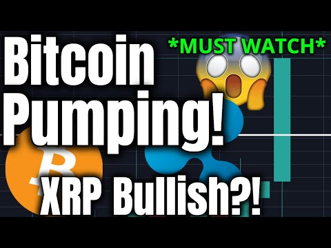 BITCOIN PUMPING RIGHT NOW!! Ripple XRP Bullish?!  (Cryptocurrency Trading, Price Analysis, News)