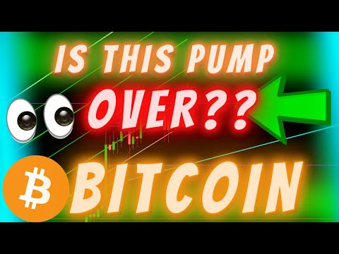 BITCOIN PUMP OVER?! - OR JUST BEGINNING! (THIS Has Only Happened 4 Times Since 2017)