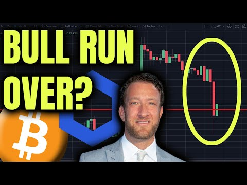 BITCOIN BULL RUN OVER? | PORTNOY ENCOURAGES PUMP AND DUMP | CHAINLINK UPDATE