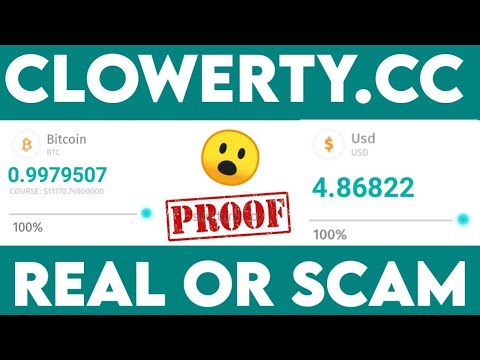 Clowerty | Paying OR Scam l Live Payment Proof | Best Cloud Mining Site 2020 ||Earn Free Bitcoin