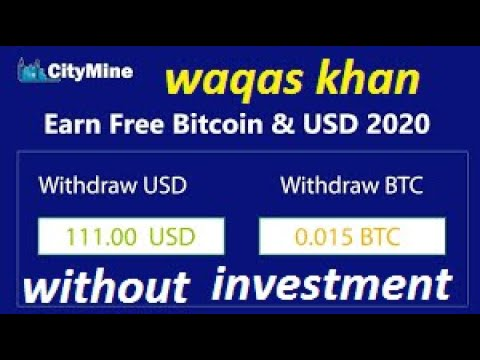 Citymine Crypto mining  to everyone. without investment 2020