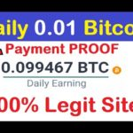 NON STOP AUTO BITCOIN MINING SITE !!! Per DAY 0.01 BITCOINS + Payment Proof