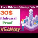Best Free Bitcoin Mining Site 2020,New Free Bitcoin Mining Site,BugaMining Bitcoin site Withdrawl,