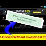 How To Earn Free Bitcoin Without Investment |Coinasdster Payment Proof 19/08/2020