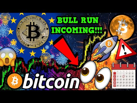 BREAKING!!! BITCOIN BULL RUN IMMINENT SPARKED by EU?!!! HISTORIC BTC EVENT!!!
