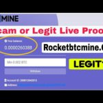 Rocketbtcmine.Com Site Scam or Legit? Free Bitcoin Mining Site | Income Bangla