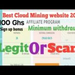 Clowerty.cc Withdraw proof Scam Or Legit|New Free Bitcoin Cloud Mining Site 2020||3 usd withdraw