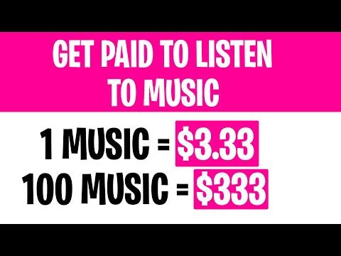 Make $333 PER DAY LISTENING TO MUSIC [Make Money Online WORLDWIDE]