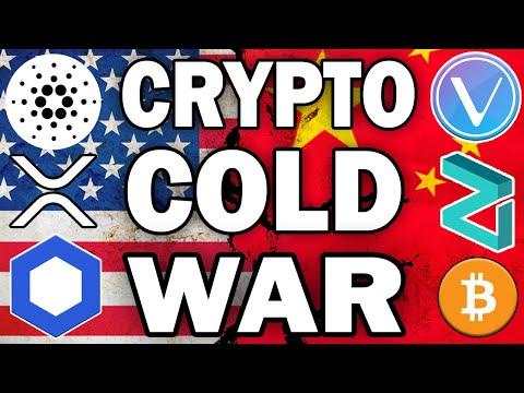 Bullish Crypto News: Tech Cold War! | VET ADA LINK ZIL + BTC Giveaway!
