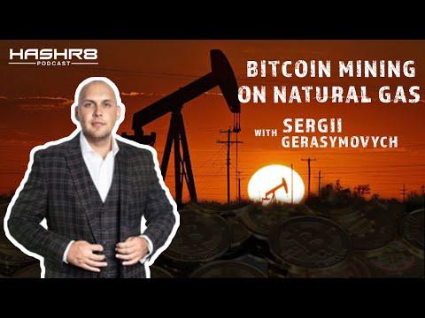 Bitcoin Mining On Natural Gas with @SergiiGera, CEO of @EZ_Blockchain | HASHR8 Podcast