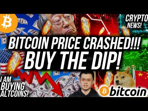 BITCOIN PRICE CRASHED! Why You Should BUY THE DIP! Crypto News