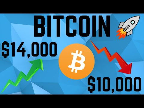 Bitcoin HUGE MOVE INCOMING! $14,000 or $10,000 Is Coming Soon