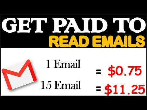 Get Paid to read emails (Make money online for free 2020)