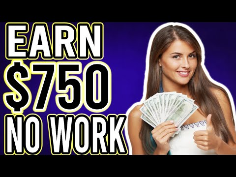 Earn $750 Daily On AUTOPILOT! (No Work!) - Make Money Online