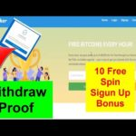 Earn Free Bitcoin Without Investment|10 Free Spin Sigun Up Bonus |Btcmaker Withdrawal Proof 26/08/20