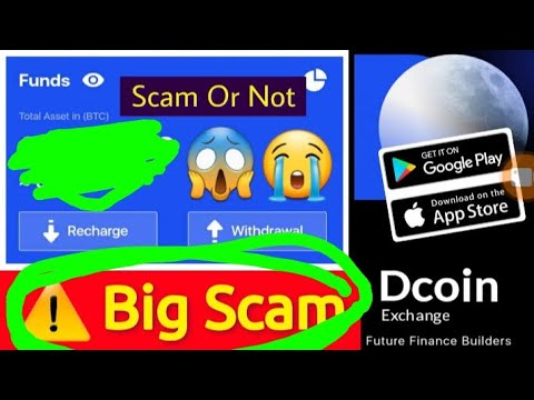 Dcoin  is a  Scam 100% Real  #Dcoin #crypto-currency
