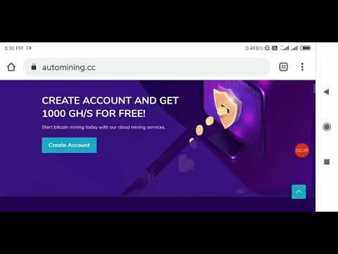 New Bitcoin Mining Site 1000ghs Free || Withdrawal Proof Zero Investment